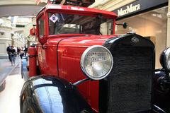 στις 12 Σεπτεμβρίου της Μόσχας, ΡΩΣΙΑ †«: Έκθεση των σπάνιων εκλεκτής ποιότητας αυτοκινήτων στη ΓΟΜΜΑ στις 4 Σεπτεμβρίου 2014 Στοκ εικόνα με δικαίωμα ελεύθερης χρήσης
