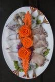 Στιλίστας τροφίμων πρώτης ύλης θαλασσινών Στοκ φωτογραφία με δικαίωμα ελεύθερης χρήσης