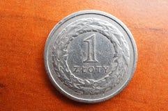 στιλβωτική ουσία zloty Στοκ εικόνα με δικαίωμα ελεύθερης χρήσης