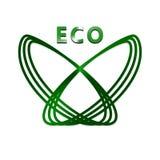 στιλπνό καθορισμένο διάνυσμα eco κουμπιών Στοκ φωτογραφία με δικαίωμα ελεύθερης χρήσης