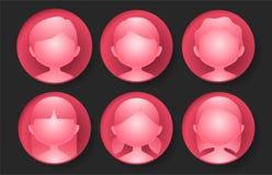 Στιλπνό κόκκινο είδωλο Στοκ εικόνα με δικαίωμα ελεύθερης χρήσης