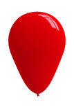 Στιλπνό κόκκινο μπαλόνι στοκ φωτογραφία με δικαίωμα ελεύθερης χρήσης