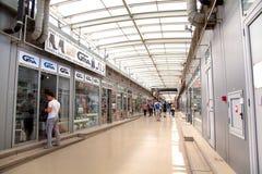 Στοά αγορών σε Plovdiv, Βουλγαρία Στοκ Φωτογραφίες