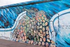 Στοά ανατολικών πλευρών στο Βερολίνο, Γερμανία Στοκ Εικόνα