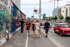 Στοά ανατολικών πλευρών στο Βερολίνο Στοκ φωτογραφία με δικαίωμα ελεύθερης χρήσης