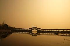 στοά γεφυρών αψίδων Στοκ Φωτογραφίες
