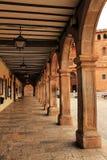 Στοά με τα arcades του ύφους αναγέννησης Στοκ φωτογραφία με δικαίωμα ελεύθερης χρήσης