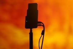 Στοά τηλεοπτικής ραδιοφωνικής μετάδοσης Στοκ φωτογραφία με δικαίωμα ελεύθερης χρήσης
