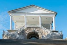 Στοά του Cameron στο πάρκο της Catherine της μουσείο-επιφύλαξης Tsarskoye Selo στη Ρωσία Στοκ φωτογραφίες με δικαίωμα ελεύθερης χρήσης