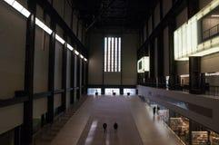 Στοά του Tate Modern στο Λονδίνο, Ηνωμένο Βασίλειο Στοκ Φωτογραφία