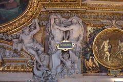 Στοά Apollon, Παρίσι, Γαλλία Στοκ φωτογραφία με δικαίωμα ελεύθερης χρήσης