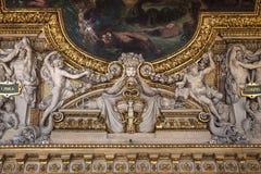 Στοά Apollon, Παρίσι, Γαλλία Στοκ Φωτογραφία