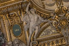 Στοά Apollon, Παρίσι, Γαλλία Στοκ Εικόνες
