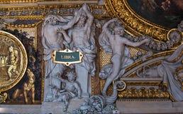 Στοά Apollon, Παρίσι, Γαλλία Στοκ εικόνες με δικαίωμα ελεύθερης χρήσης