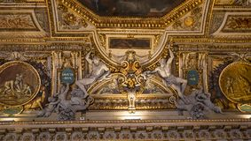 Στοά Apollon, Παρίσι, Γαλλία Στοκ Φωτογραφίες