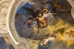 Στοά Apollon, το Λούβρο, Παρίσι, Γαλλία Στοκ Εικόνα