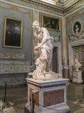 Στοά Borghese - Bernini ` s Δαβίδ Στοκ Εικόνες