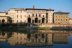 Στοά Uffizi, Φλωρεντία, Ιταλία στοκ φωτογραφίες