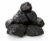 Στοίβα άνθρακα Στοκ εικόνα με δικαίωμα ελεύθερης χρήσης
