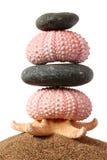 στοίβα ακτών zen στοκ φωτογραφία με δικαίωμα ελεύθερης χρήσης