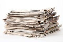 στοίβα εφημερίδων Στοκ φωτογραφία με δικαίωμα ελεύθερης χρήσης