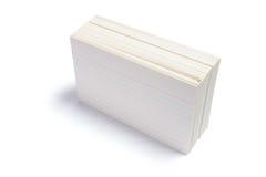 στοίβα καρτών Στοκ Εικόνες