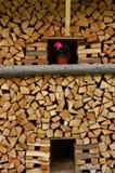 στοίβα καυσόξυλου Στοκ εικόνα με δικαίωμα ελεύθερης χρήσης