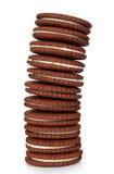 Στοίβα μπισκότων μπισκότων   Στοκ φωτογραφία με δικαίωμα ελεύθερης χρήσης