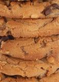 στοίβα μπισκότων σοκολάτ&a Στοκ φωτογραφία με δικαίωμα ελεύθερης χρήσης