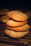 Στοίβα μπισκότων τσιπ σοκολάτας Στοκ εικόνα με δικαίωμα ελεύθερης χρήσης