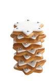 στοίβα μπισκότων Χριστου&g Στοκ εικόνα με δικαίωμα ελεύθερης χρήσης