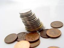 στοίβα νομισμάτων Στοκ Φωτογραφίες