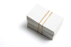στοίβα ονόματος καρτών στοκ φωτογραφίες με δικαίωμα ελεύθερης χρήσης