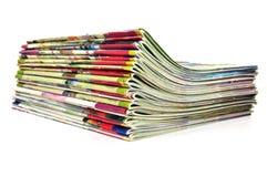 στοίβα περιοδικών στοκ εικόνα με δικαίωμα ελεύθερης χρήσης