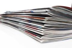 στοίβα περιοδικών Στοκ φωτογραφίες με δικαίωμα ελεύθερης χρήσης