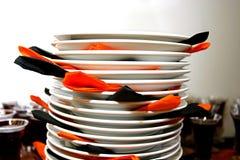 στοίβα πιάτων στοκ εικόνα με δικαίωμα ελεύθερης χρήσης