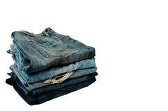 στοίβα τζιν παντελόνι Στοκ φωτογραφία με δικαίωμα ελεύθερης χρήσης