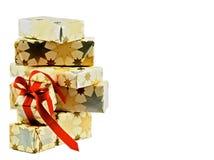 Στοίβα των κιβωτίων δώρων Στοκ φωτογραφίες με δικαίωμα ελεύθερης χρήσης