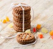 Στοίβα των μπισκότων Στοκ Εικόνες