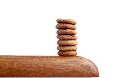 Στοίβα των μπισκότων Στοκ Φωτογραφία