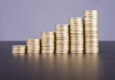 Στοίβα των νομισμάτων στοκ εικόνα