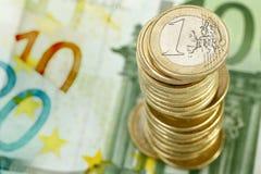Στοίβα των νομισμάτων Στοκ Φωτογραφία