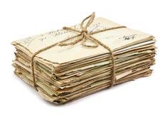 Στοίβα των παλαιών επιστολών στοκ εικόνες με δικαίωμα ελεύθερης χρήσης