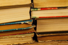 Στοίβα των παλαιών βιβλίων Στοκ Εικόνες
