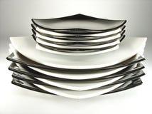 Στοίβα των πιάτων Στοκ εικόνες με δικαίωμα ελεύθερης χρήσης