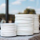 Στοίβα των πιάτων Στοκ φωτογραφία με δικαίωμα ελεύθερης χρήσης