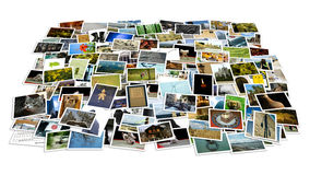 Στοίβα των φωτογραφιών - προοπτική στοκ φωτογραφία με δικαίωμα ελεύθερης χρήσης