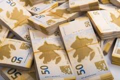 Στοίβα των χρημάτων Στοκ εικόνα με δικαίωμα ελεύθερης χρήσης