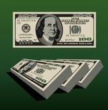 Στοίβα των χρημάτων Στοκ Φωτογραφία