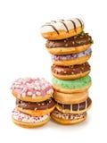 Στοίβα των donuts Στοκ Εικόνες